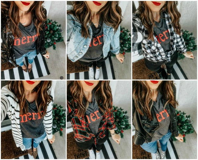 How to Wear a Graphic Tee for the Holidays | This is our Bli