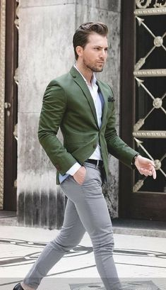 Mens fashion casual by Ruben Castro on Me | Blazer outfits men .