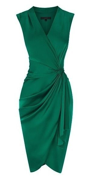 Emerald green cocktail dress - Chic Dresses and beautiful Skirts .