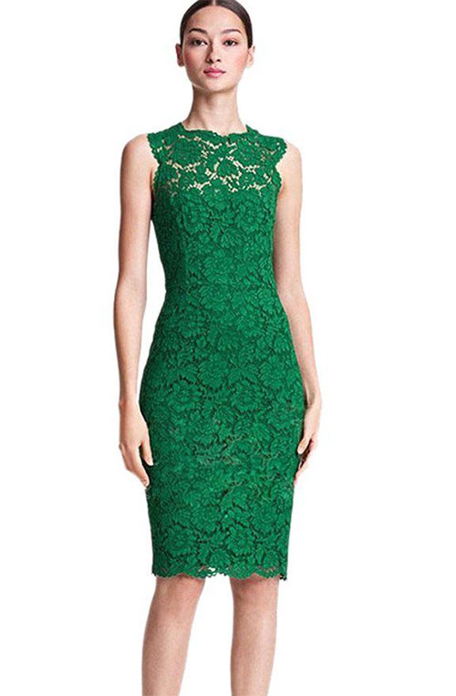 Green Party Dress for Women – Fashion dress