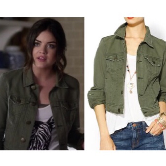 Old Navy Jackets & Coats | Army Green Denim Jacket | Poshma