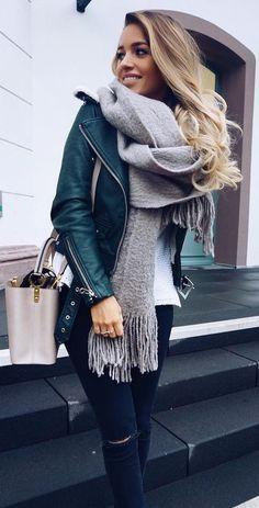 35 Cozy Outfit Ideas To Wear This Winter | Vinterkläder, Höstmode .