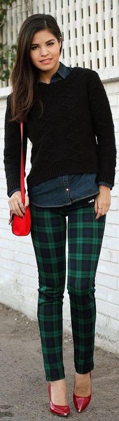 53 Best Green plaid pants images | Plaid pants, Green plaid pants .
