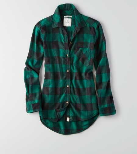 AEO Canyon Boyfriend Flannel- probably large | Womens flannel .