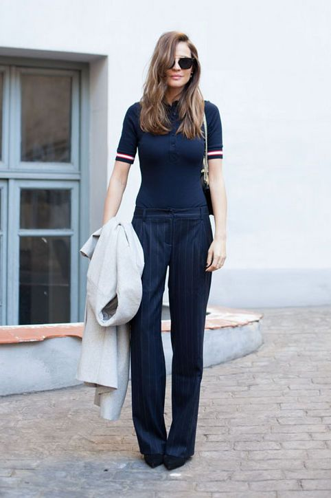 The Polo Shirt Is Back! 13 Ways to Style the Classic This Fall .