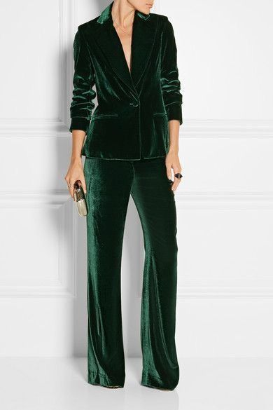 I'm DESPERATE for a velvet suit! | Fashion, Suits for wom