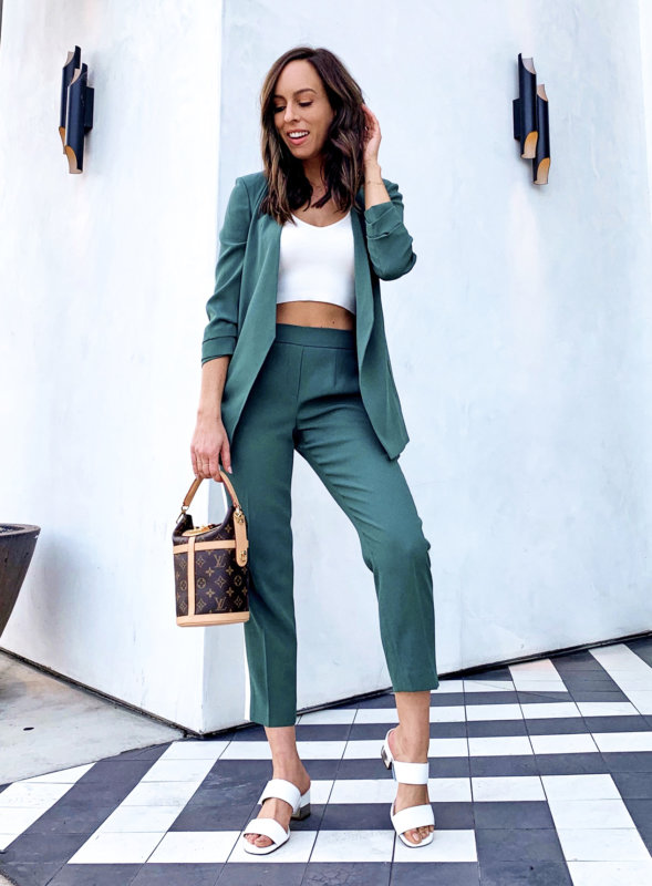 How To Wear A Pant Suit For Summer 4 Different Ways | Sydne Sty
