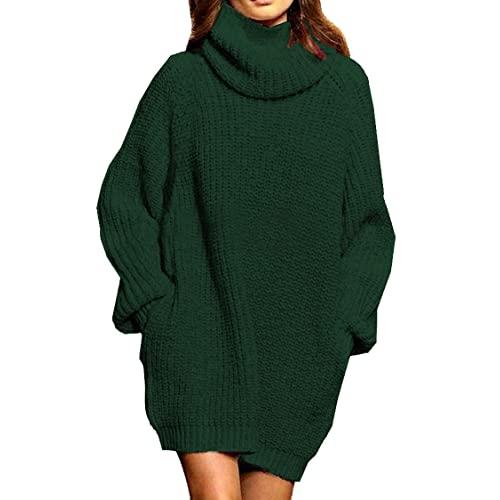 Green Sweater Dress: Amazon.c