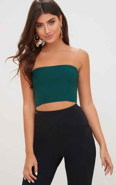 How to Wear Green Tube Top: Best 13 Low-Key Sexy Outfit Ideas for .