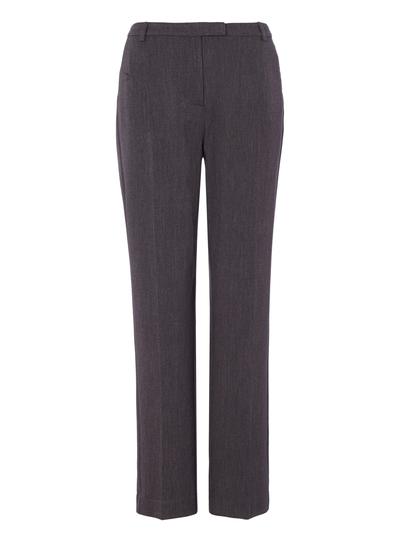 Womens Grey Slim Leg Trousers | Tu clothi