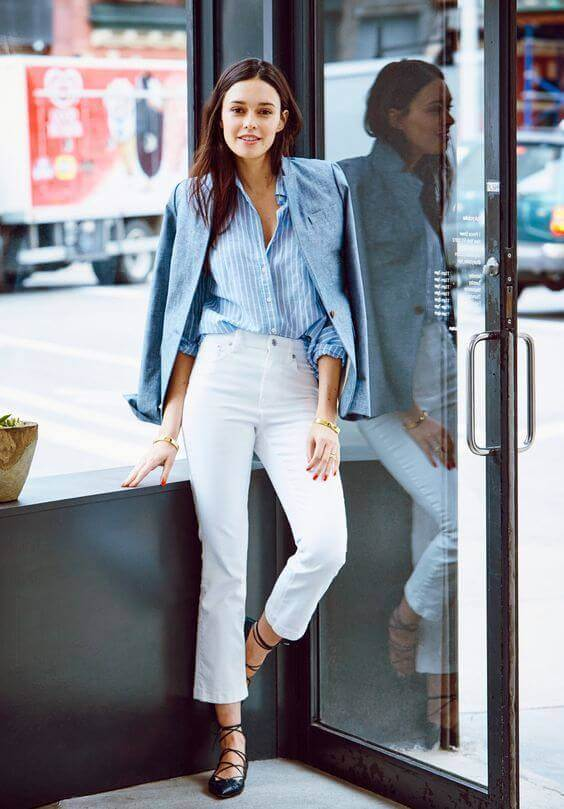 18 Best White Jeans Outfit Ideas for Men and Women - Miss Prettypi