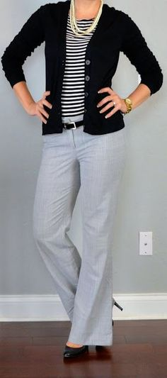 128 Best Grey pants images | Work fashion, Grey pants, Cloth