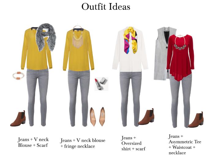 15 Ways To Wear Grey Skinny Jeans — Gosia Scarro