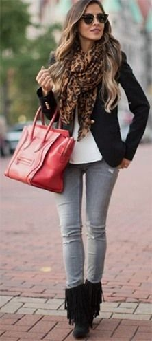 16 Brilliant Outfits You Can Wear With Grey Jeans | Grey jeans .