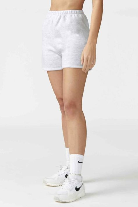 Fitted Sweat Short in 2020 | Shorts outfits women, Sweats outfit .