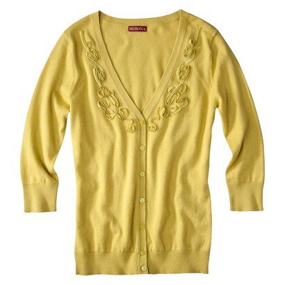 Merona® Womens V-Neck Artist Cardigan Sweater - Assorted Colors-s .