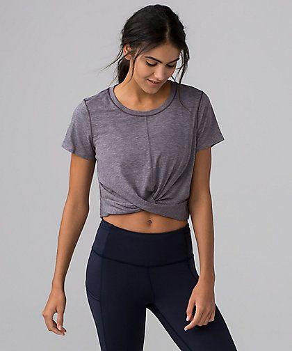 Intended Crop Tee | Women's Short Sleeve Tops | lululemon .