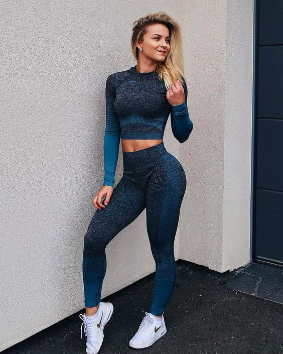 Gym clothes women image by Ashley Robinson on fitness in 2020 .
