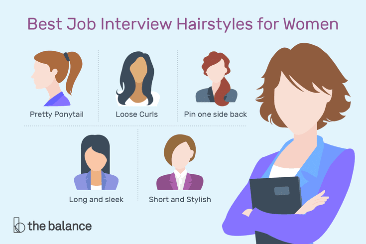 Best Job Interview Hairstyles for Wom
