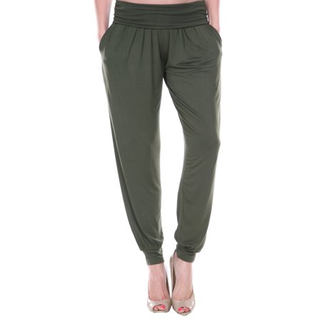 White Mark - Women's Harem Pants - Walmart.com - Walmart.c
