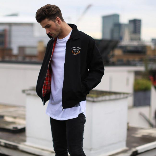 35 Remarkable Ways To Wear Harrington Jacket - A Tartan Ta