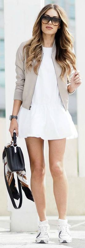 How To Wear Bomber Jackets For Women 2020 - LadyFashioniser.c