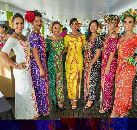 Inangarodesign -Cook Island style | Hawaiian outfit, Hawaiian .