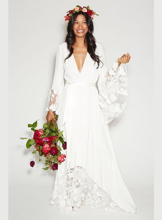 Hawaiian Wedding Ideas | Traditional wedding dresses, Bohemian .