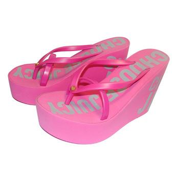 Fashionable Eva Woman High Heel Slippers Flip Flops - Buy Hot .