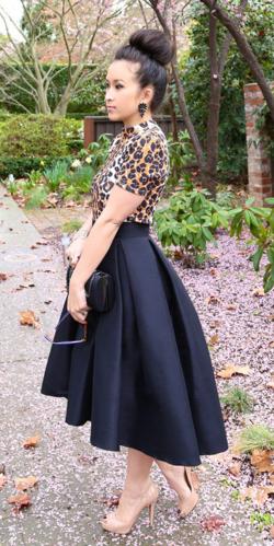 hi/low pleated skirt … | Skirt outfits, Skirt fashi