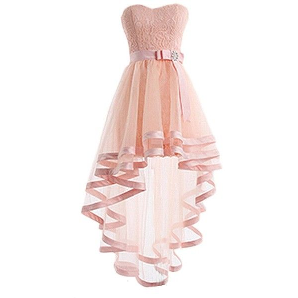 Pin em high low dress