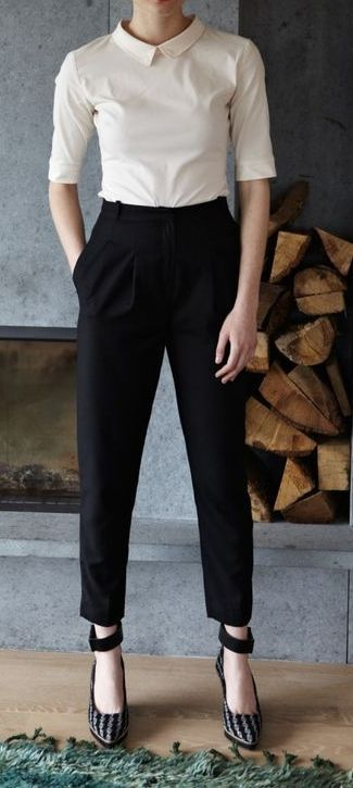 35 Skinny High Waist Pants Outfit Ideas for Fall | High waisted .