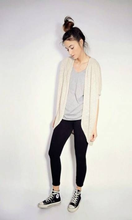 How to wear converse high tops with leggings summer outfits 48+ .