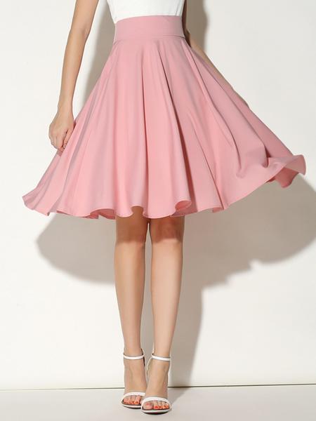 Multicolor Pastels High Waist Midi Skirt – Slim Wallet Compa