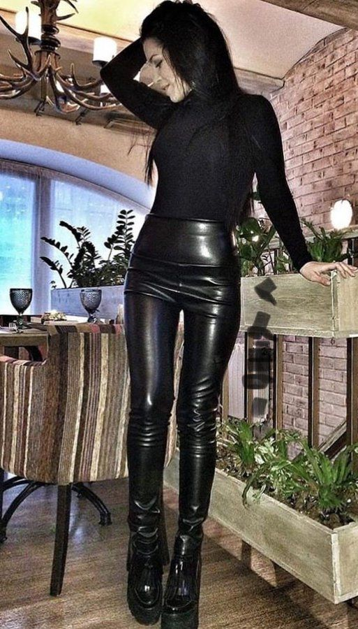 Pin on #high.waisted.leather.pan