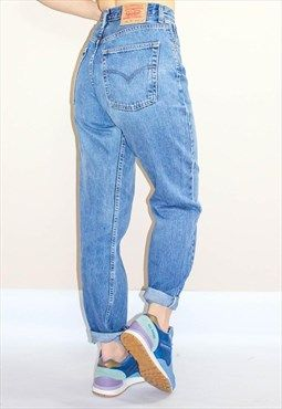 Vintage 80's Loose Fit High Waist Levi Mom Jeans (With images .