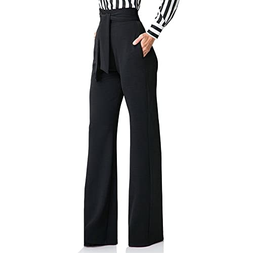 High Waisted Wide Leg Pants: Amazon.c