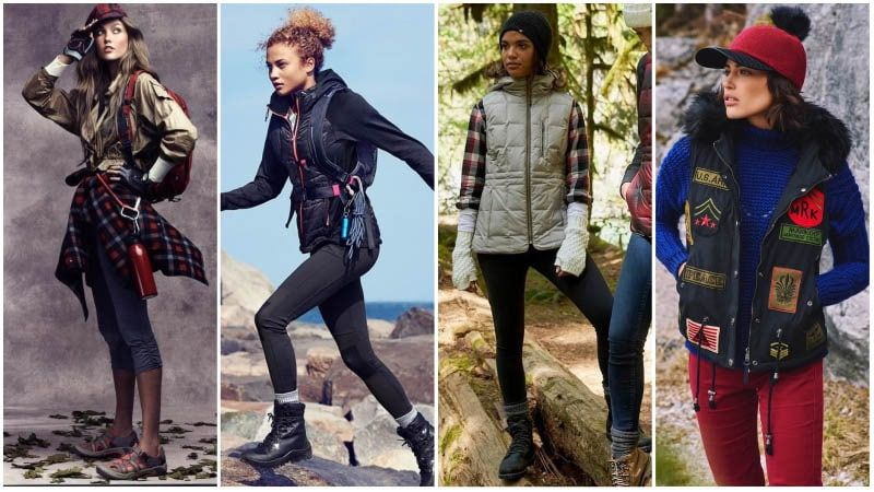 Stylish and Comfortable Hiking Outfits for Women | Womens workout .