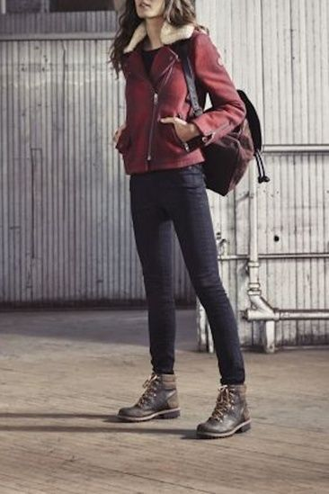 Pin by zamana. com on Fashion | Hiking outfit women, Hiking boots .