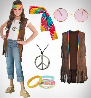 60s Costumes - 1960s Hippie Costumes - Party City (With images .