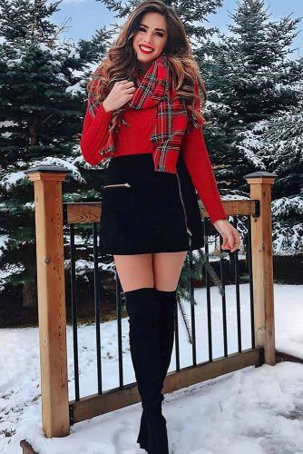 30 Holiday Outfit Ideas - Women's Fashi