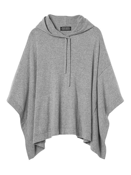 Todd & Duncan Cashmere Hooded Poncho | Hooded poncho, Outerwear .