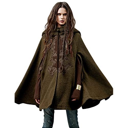 Women's Hooded Poncho: Amazon.c