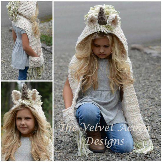 Unicorn Crochet Pattern Ideas You'll Love | Crochet unicorn hat .