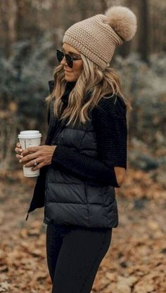 587 Best Puffer Vest images in 2020 | Autumn fashion, Fall outfits .