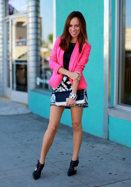 21 Hot Pink Blazer Outfits For Women - Styleohol