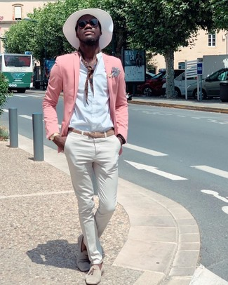 How to Wear a Pink Blazer For Men (52 looks & outfits) | Men's .