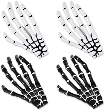 Amazon.com : Ace Select 2 Pairs Korean Style Gothic Skeleton Hands .