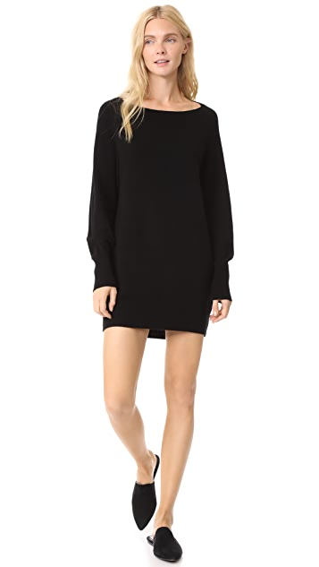 Vince Boat Neck Sweater Dress | SHOPB