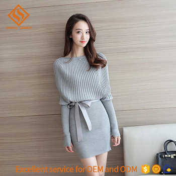 2017 Spring Women Boat Neck Sweater,Girls Fancy Long Sleeve Knit .